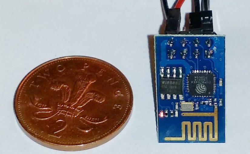 WI07C module featuring esp8266 chipset